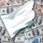 Central Bank White Flag